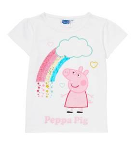Bilde av T-skjorte med vendbare paljetter - Peppa Gris