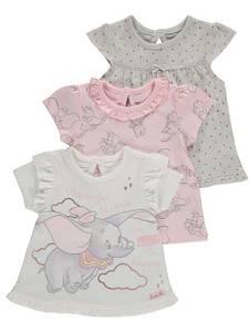 Bilde av 3pk t-skjorte - Dumbo