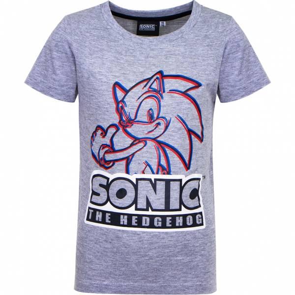 T-skjorte - Sonic - Grå