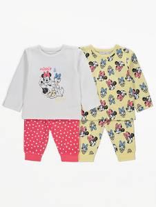 Bilde av 2pk pysjamas - Minnie og Dolly
