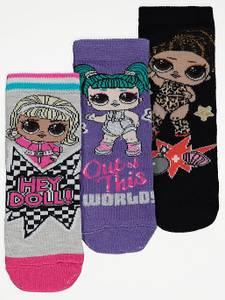 Bilde av 3pk sokker - L.O.L Surprise - Hey doll!