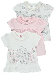 Bilde av 3pk t-skjorte - Disney - Bambi