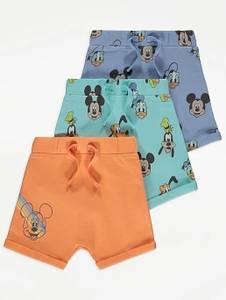 Bilde av 3pk shorts - Mikke Mus og venner