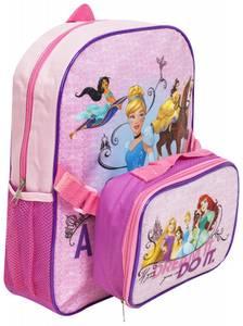 Bilde av Sekk med lunsjbag - Disneyprinsesser