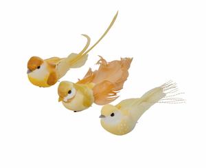 Bilde av Bungalow fugl gul (midterste)