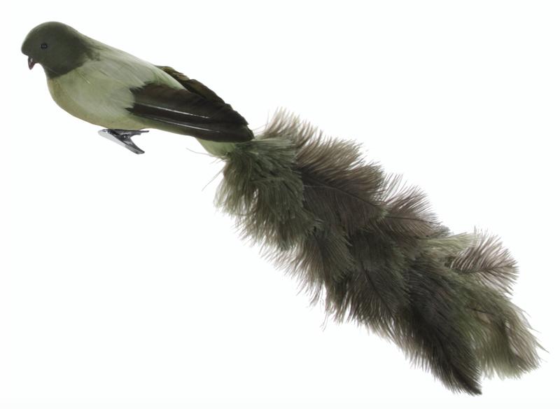 Shishi Fugl på klype Grønn
