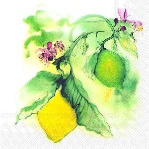 Bilde av Ihr servietter Citrus Lemon Lunsj