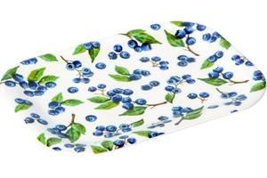 Bilde av Ihr lite snacksfat blueberries linen