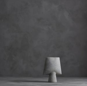 Bilde av Sphere Vase, Square Mini Light Grey