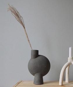 Bilde av Sphere Bubl Vase Midi Grey