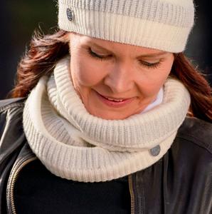 Bilde av z Morild Sol hals med refleks, hvit