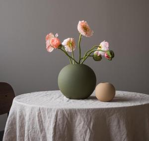 Bilde av Cooee Ball vase Olive 20cm se notat