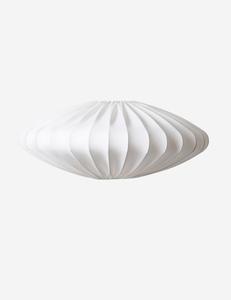 Bilde av Ellipse hvit  lampeskjerm 65cm Watt og Veke