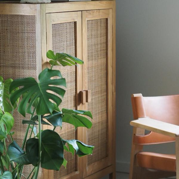 skap rattan woods spirit møbler garderobe stol skjenk