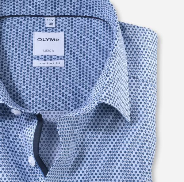 Bilde av Olymp skjorte blå - Comfort fit