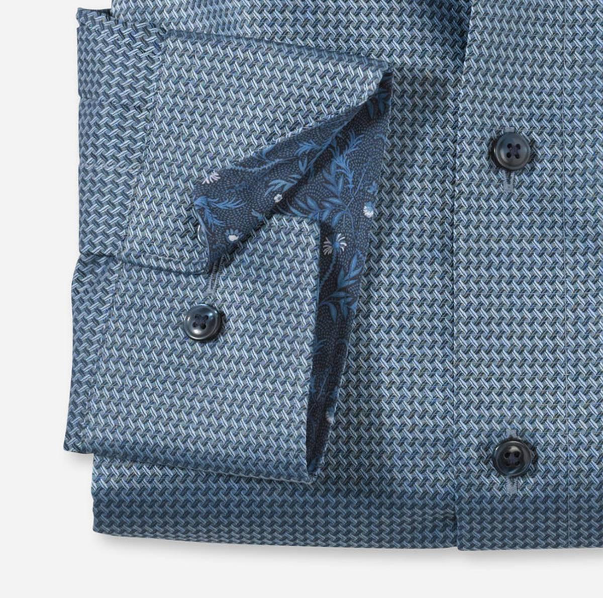 Olymp skjorte blå - Comfort fit