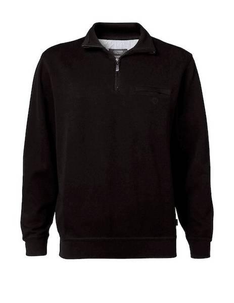 Bilde av Clipper sort genser m/glidelås