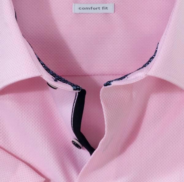Bilde av Olymp skjorte rosa kort erm - Comfort fit