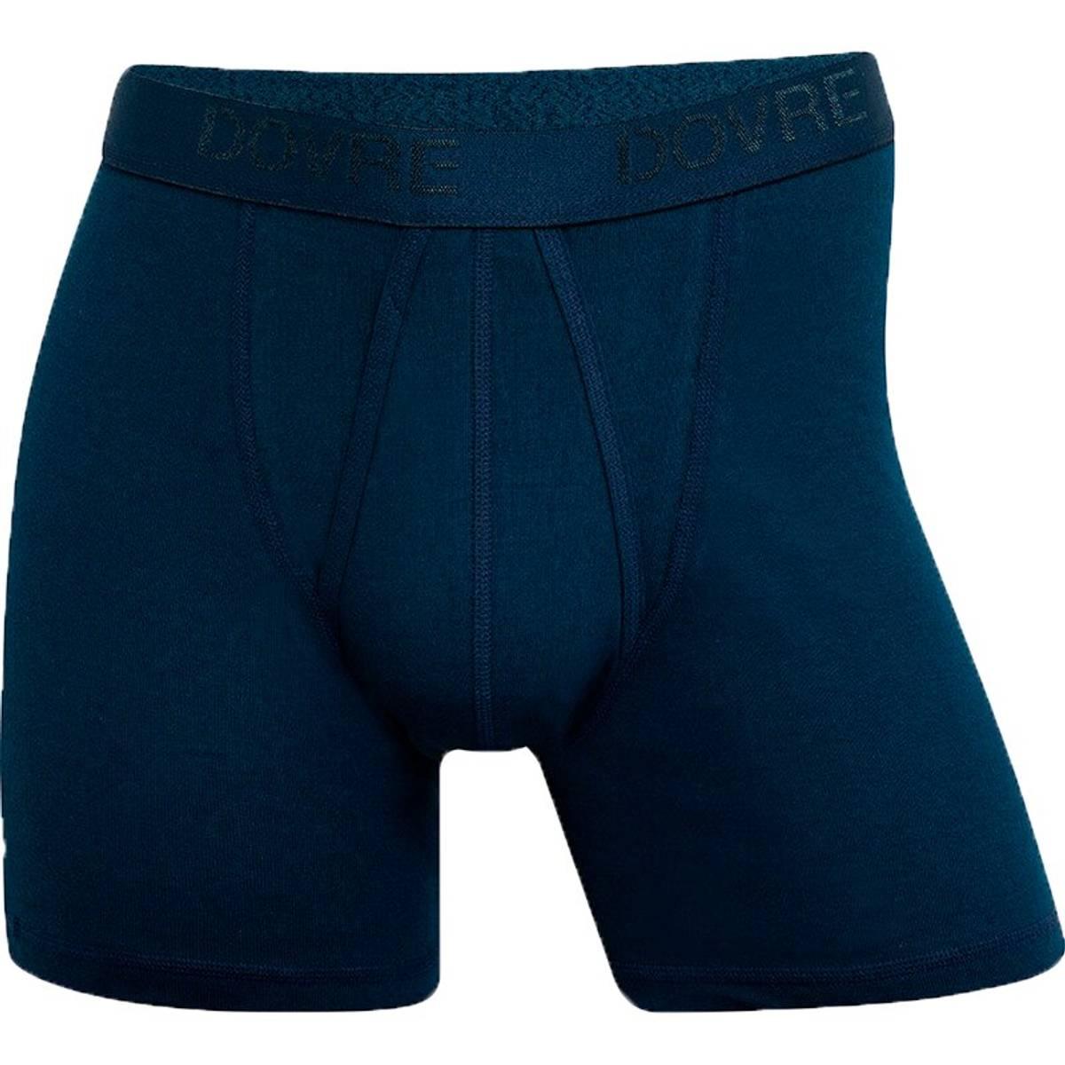 Dovre blå boxershorts, m/gylf