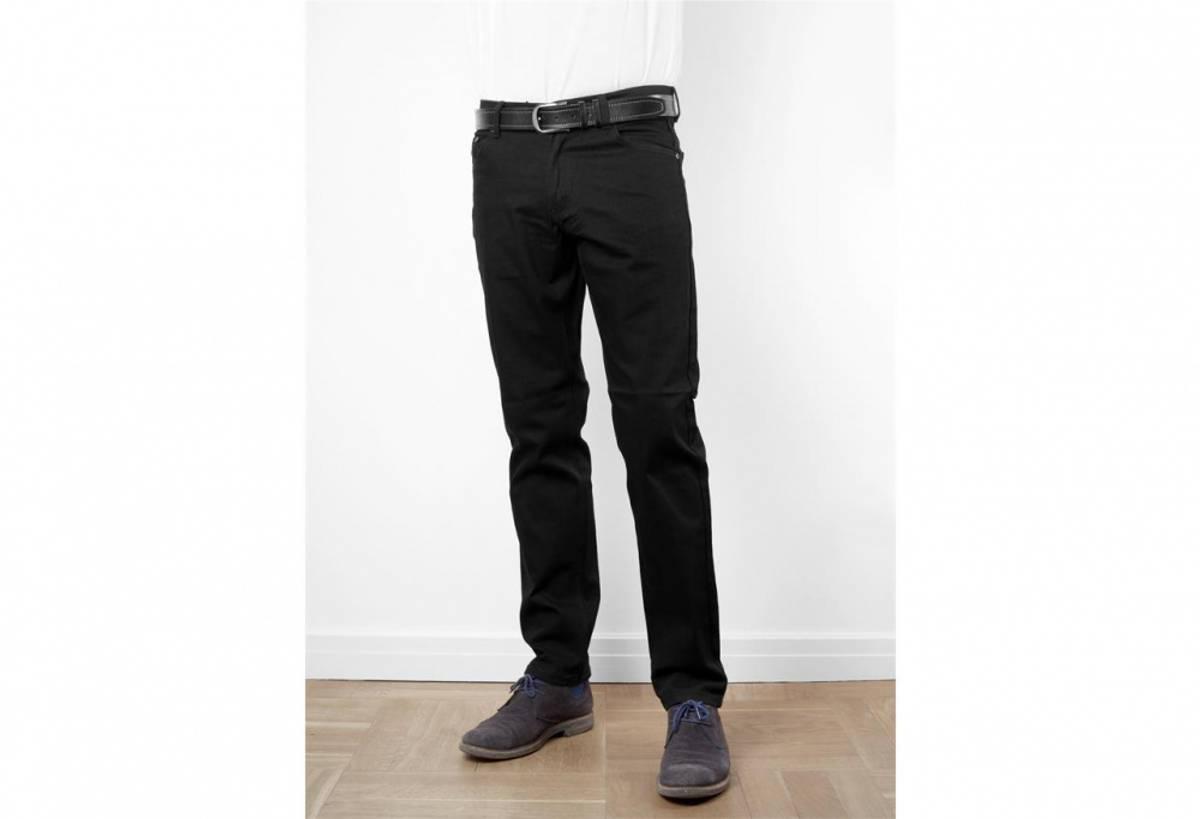 Sort jeans med stretch 33
