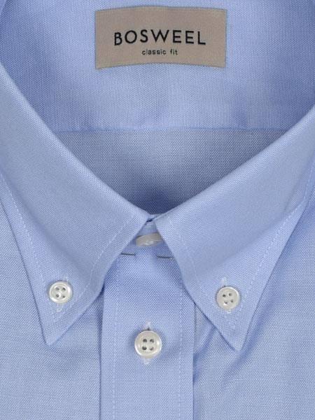 Bilde av Bosweel skjorte blå Oxford XL-ERM - Body Cut