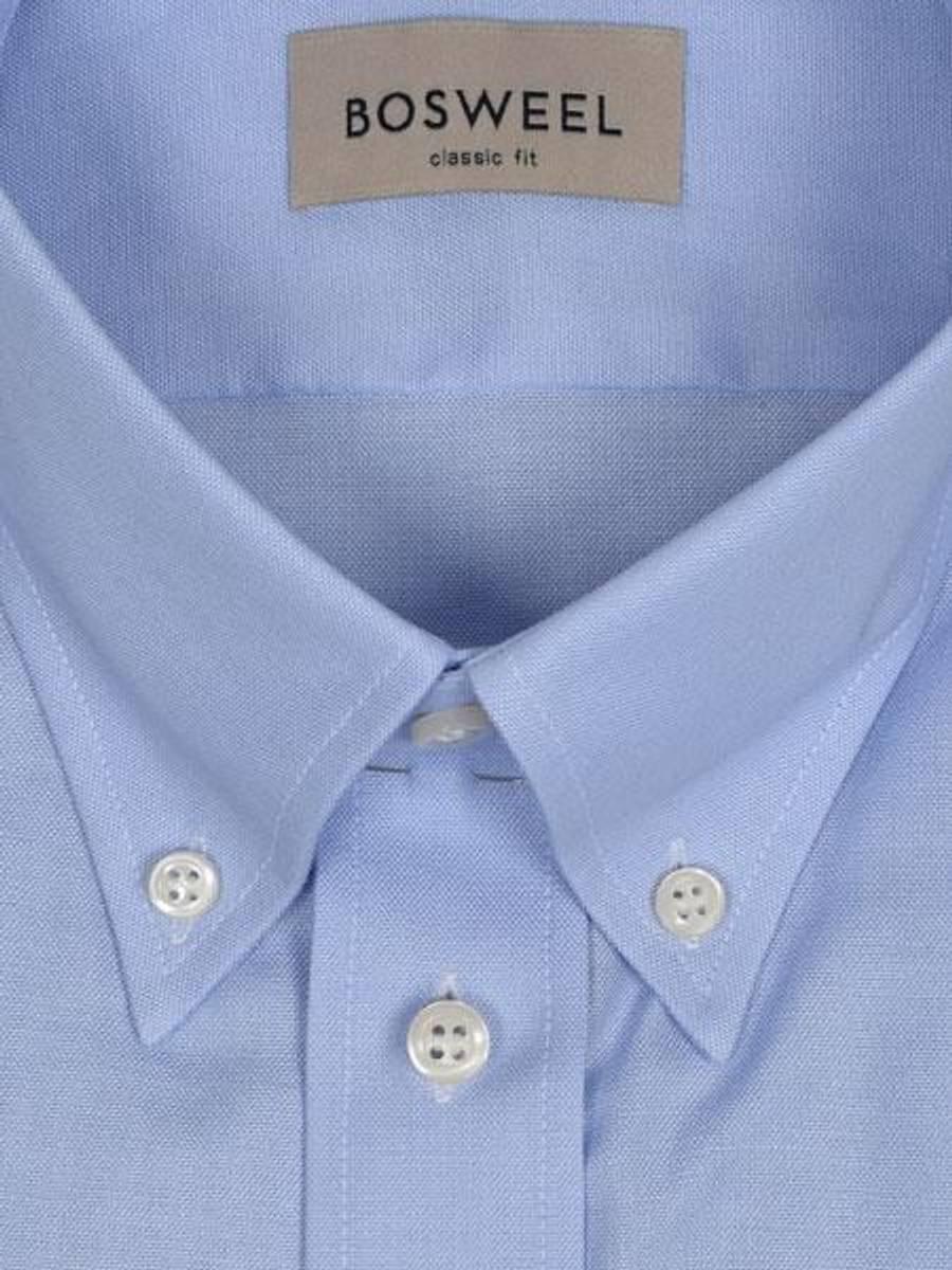 Bosweel skjorte blå Oxford XL-ERM - Body Cut