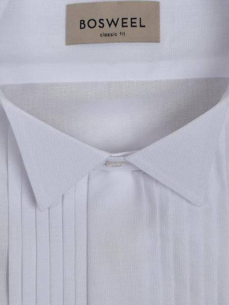 Bilde av Bosweel Smokingskjorte med knekk snipp - Hvit