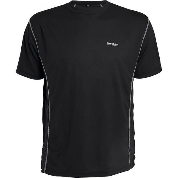 Bilde av North 56°4 Sort sport tech t-shirt