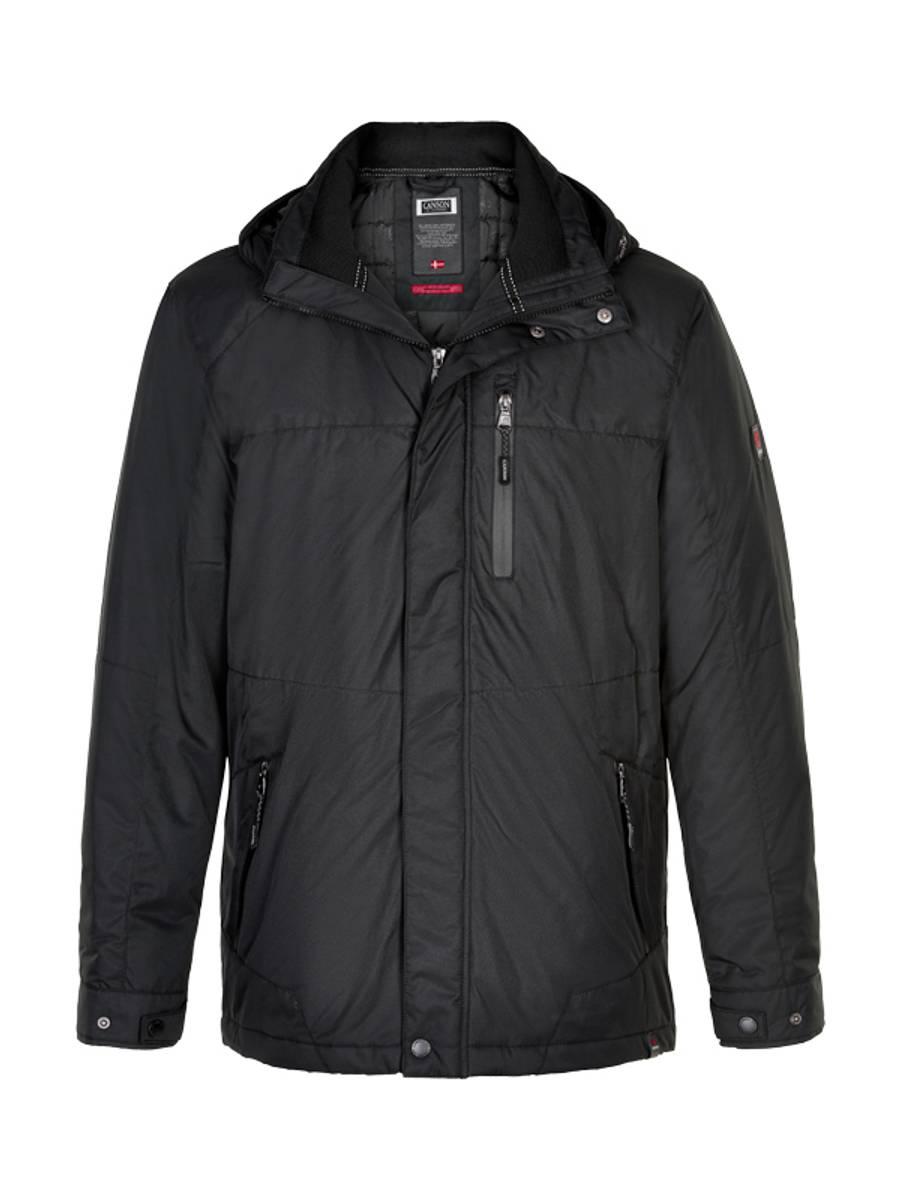 Canson Aqua-Tex jakke, Sort