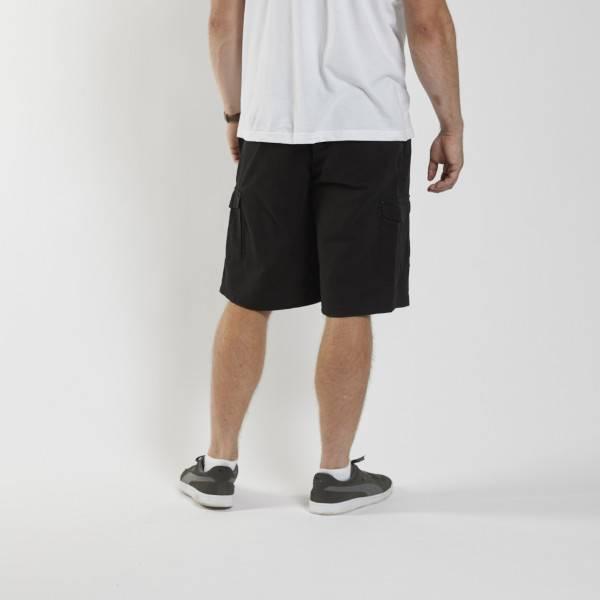 Bilde av North56°4 Sort cargo shorts, L-8XL