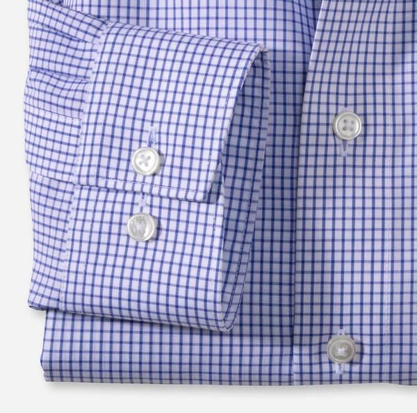 Bilde av Olymp skjorte blå ruter - Modern fit