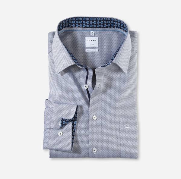 Bilde av Olymp skjorte grå - Comfort fit