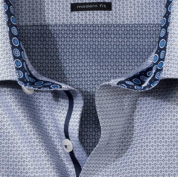 Bilde av Olymp skjorte grå - Modern fit