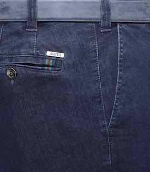 Bilde av Meyer Oslo bomullsbukse - Mørk blå