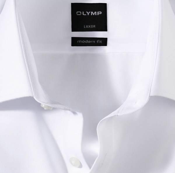 Bilde av Olymp, Hvit modern-fit