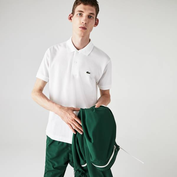 Bilde av Lacoste Polo Shirt - Hvit