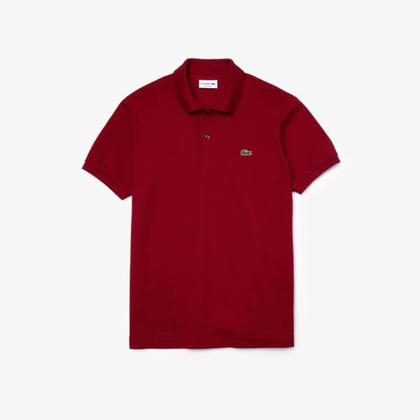 Bilde av Lacoste Polo Shirt - Bordeaux