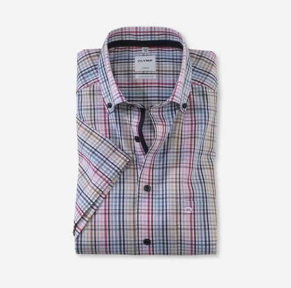 Bilde av Olymp skjorte kort erm - Comfort fit