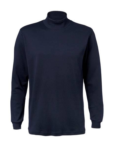 Bilde av Clipper blå høyhalset genser, turtle neck