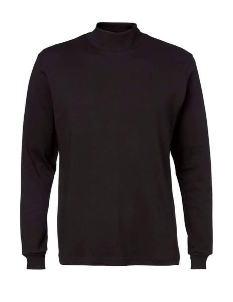 Bilde av Clipper sort høyhalset genser, turtle neck