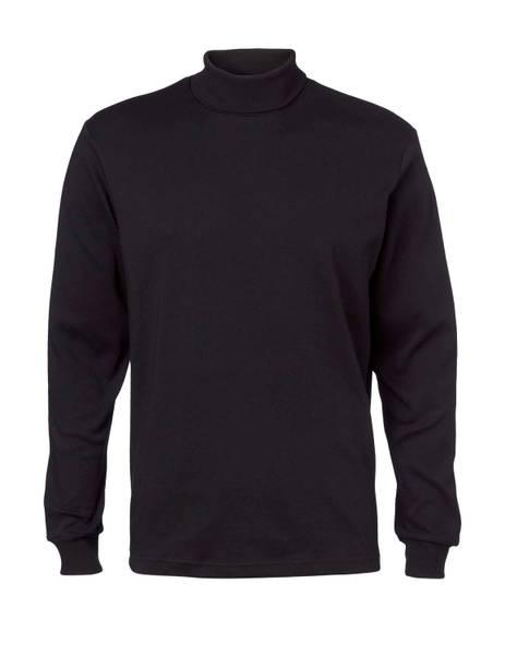 Bilde av Clipper sort høyhalset genser