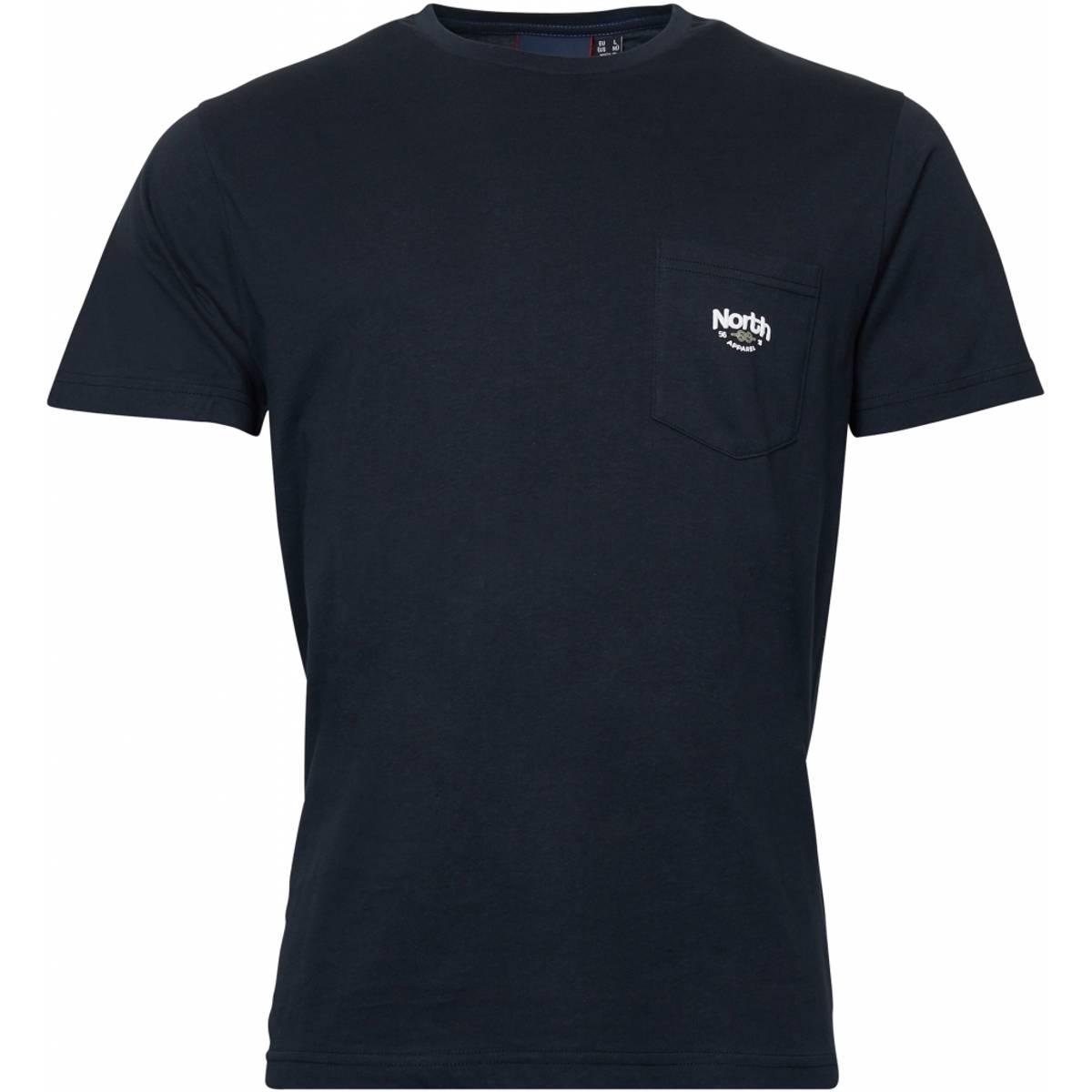 North 56°4 printed T-shirt - Sort