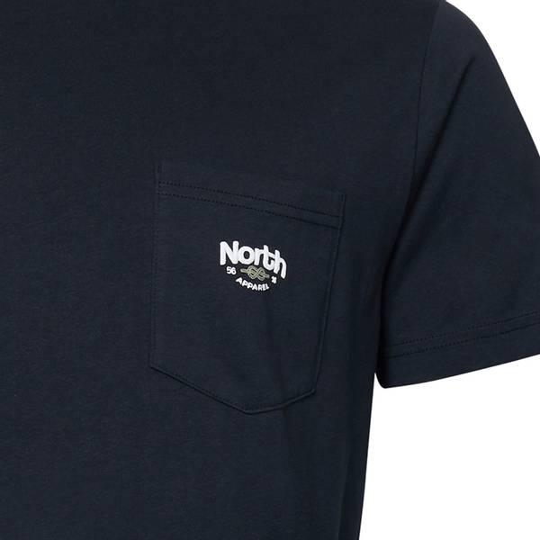Bilde av North 56°4 printed T-shirt - Sort