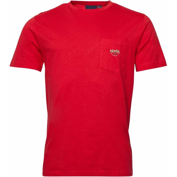 Bilde av North 56°4 printed T-shirt - Rød