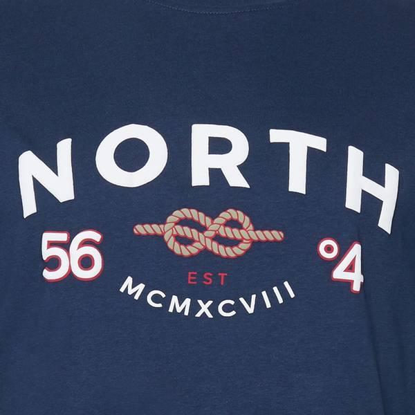 Bilde av North 56°4 printed T-shirt - Blå