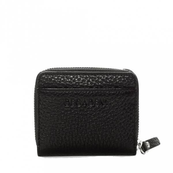 Decadent Essie Mini Zip Wallet Black