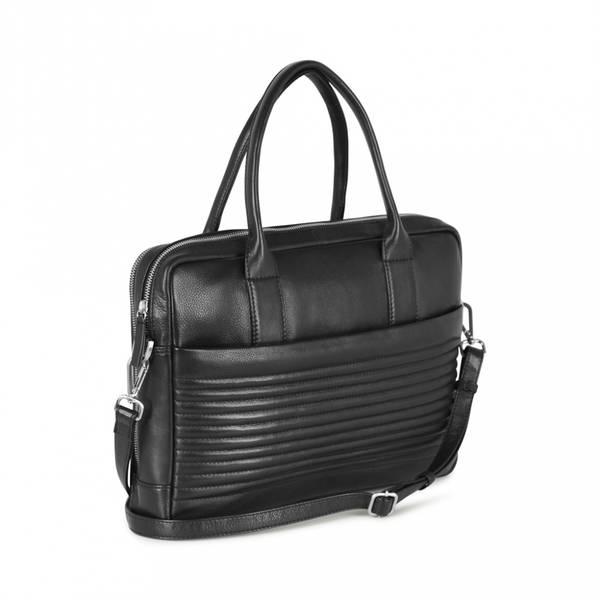 Markberg Ash Laptop Bag Biker Quilt Black
