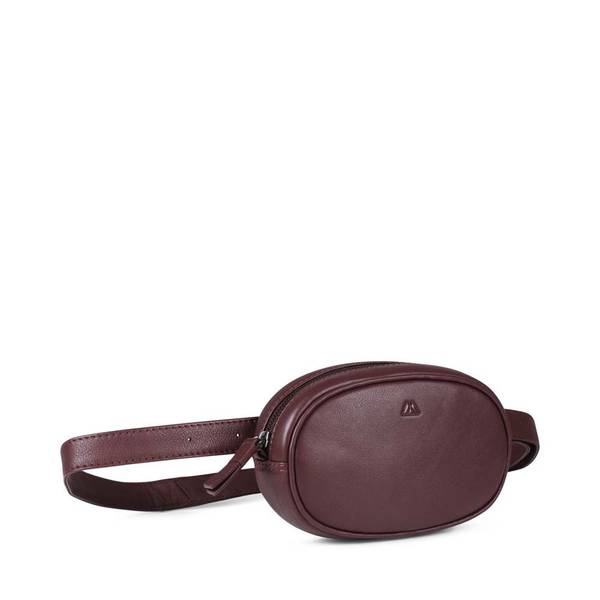 Markberg Eloise Bum Bag Burgundy
