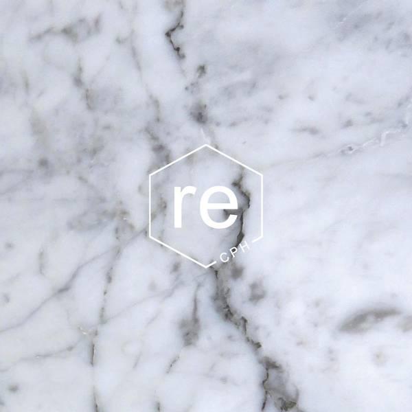 Markberg x Rebottle 500 ml Marble/White w/Silver Lid