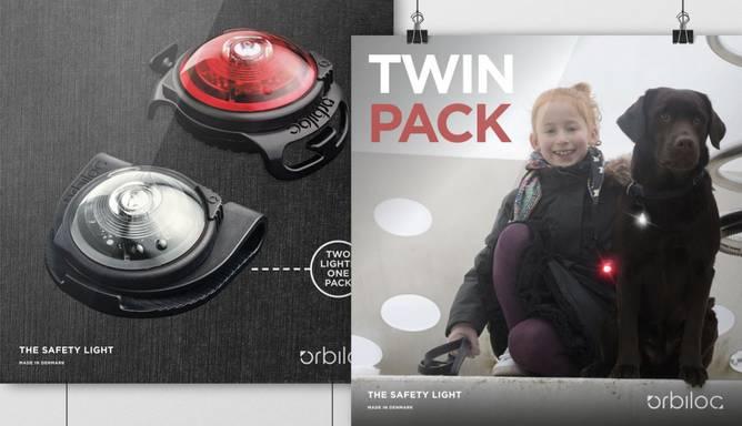Bilde av Orbiloc Dog Dual Twin Pack